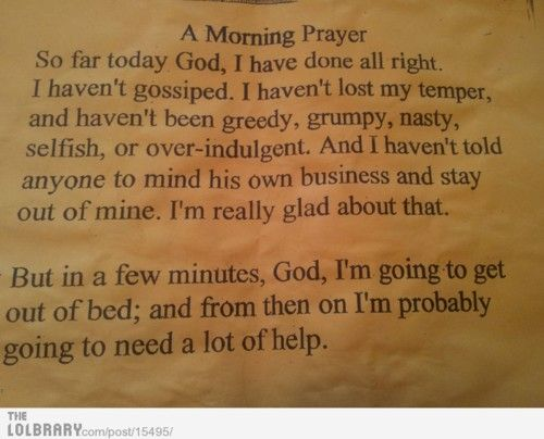 Morning Prayer: Life, Mornings Prayer, Funny Stuff, Friendship Quotes, Morning Prayers, Weights Loss, Prayer Quotes, True Stories, Funny And True
