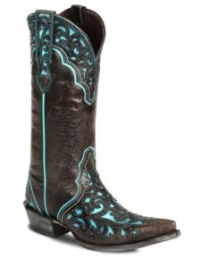 Ariat Chocolate Presidio Cowgirl Boot - Pointed Toe, kinda in luv with these