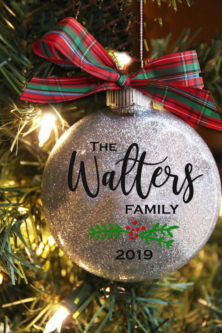 Personalized Christmas Ornament Family Name Christmas Etsy Personalized Christmas Ornaments Family Grandparent Christmas Ornaments Christmas Ornaments Gifts