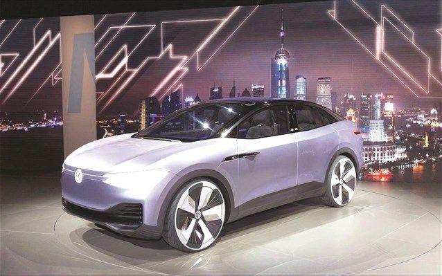 Volkswagen I.D. Crozz: Εικόνες από το μέλλον στη Σαγκάη | naftemporiki.gr