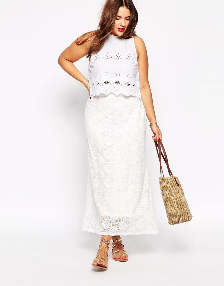 Image 4 ofJunarose Embroidered Skirt: