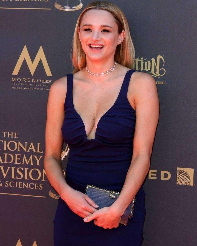 Hunter Haley King 2017 Daytime Emmy Awards in LA #wwceleb