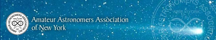 Amateur Astronomer's Association Calendar- Stargazing in NYC