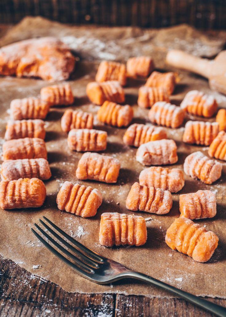 Süßkartoffel-Gnocchi (vegan, einfach)   – lecker