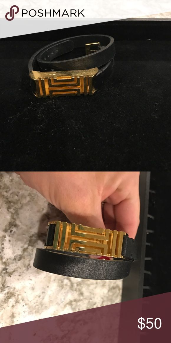 Tory burch Fitbit bracelet Tory Burch wraparound Fitbit bracelet Tory Burch Jewelry Bracelets