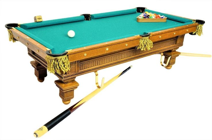 Franklin Mint Miniature Brunswick Pool Table