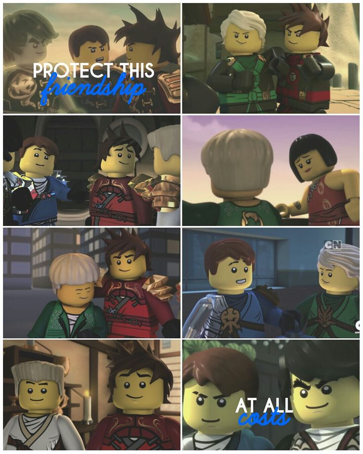 Protect this friendship at all costs #Ninjago  ( Approved by @LetMeGoDarkness - twitter )