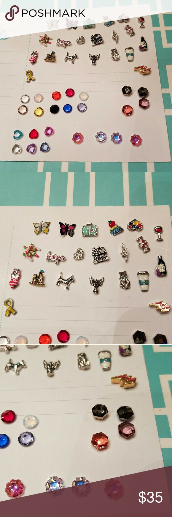 New Origami Owl charms New origami owl charms, pick any 10 for $25 or $3.00 each origami owl Jewelry