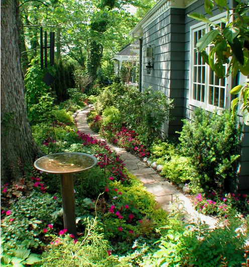 Landscaping On Side Of House : Best images about landscaping ideas for side of house