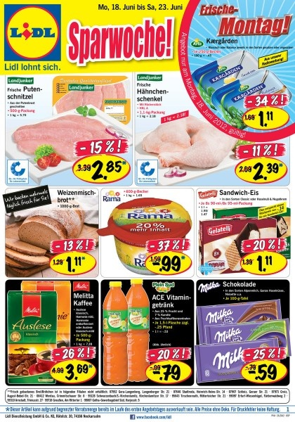 Lidl: Weekly Ads // Discounted Supermarket