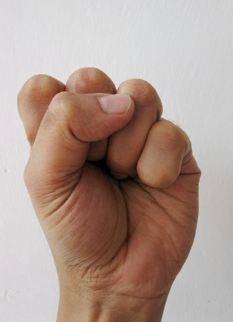 Mushti Mudra – Helps to get rid of accumulated emotions. Suppressed anger, frustration, constant irritation & neg emotions can be relieved by regular practice. Clench your fingers to form a fist. Thumb should be placed over ringer finger. Activates liver & stomach, aids digestion & cures constipation. Form a fist as soon as you finish your meal. 10 min on & the food is digested. Useful tips: Do not consume water immed. after a meal. Keep a gap of at least 30 min after completing the meal.