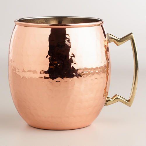 Hammered Copper Mug >> #WorldMarket Holiday Entertaining