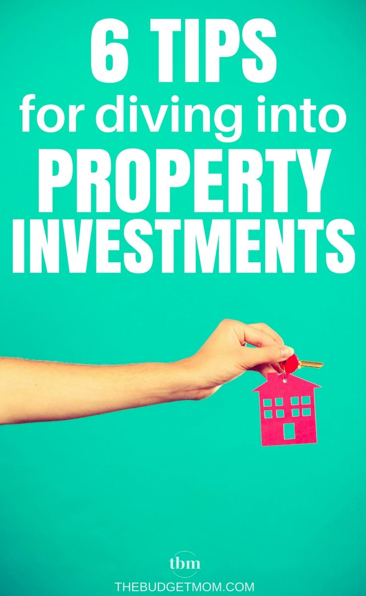 Real estate investing can be a scary thing. Use these six tips to help you get started on building a property portfolio - the right way! via @thebudgetmom