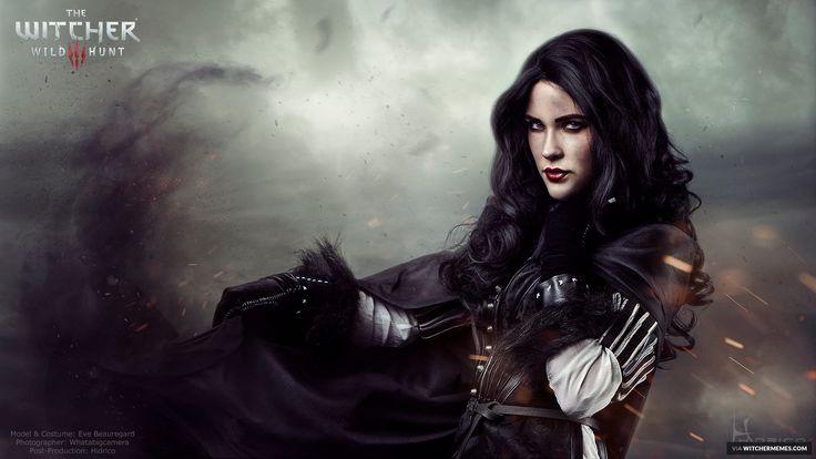 Witcher Memes - Eve Beauregard is doing some next-level Yen cosplay!