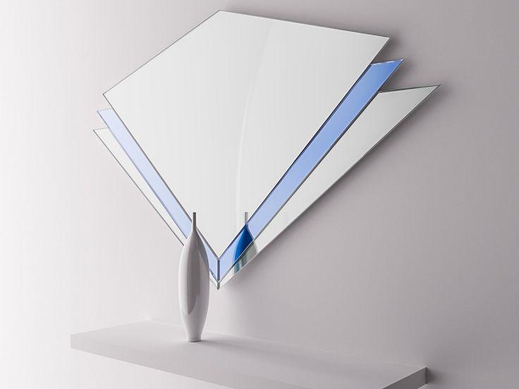 Овальное зеркало в раме из зеленого стекла - Зеркала - Цветные зеркала - Фотогалерея