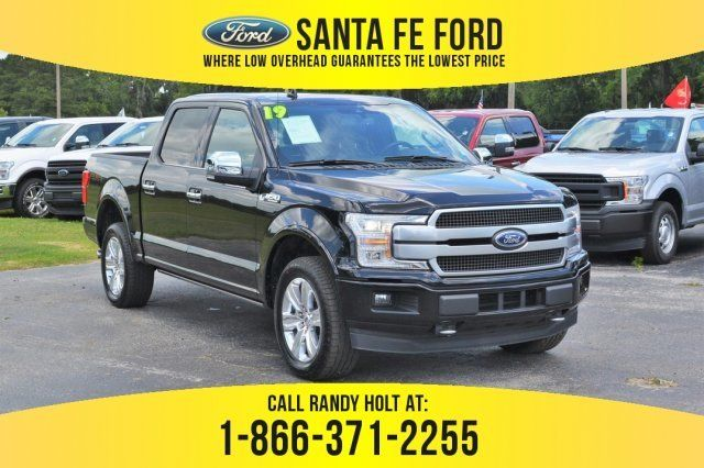 Used 2019 Ford F 150 Platinum 4x4 Truck For Sale Gainesville Fl
