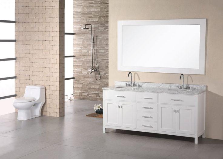 Delightful White Wood Bathroom Furniture Part - 3: Wooden Bathroom Cabinets White