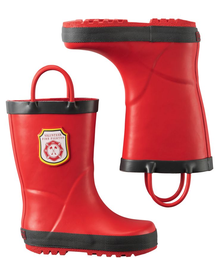 Firefighter Rain Boots from Carters.com. Shop clothing & accessories from a…