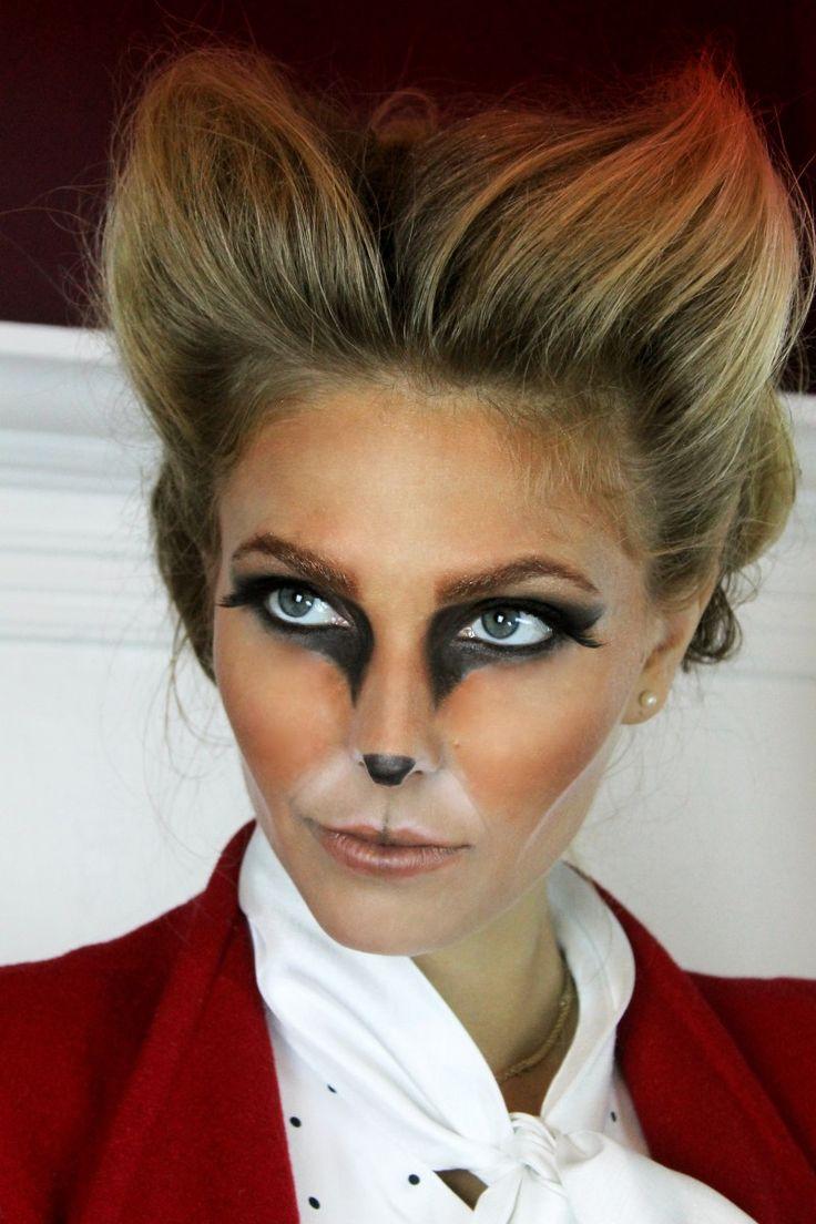Maquillaje de Zorro. Fox makeup.