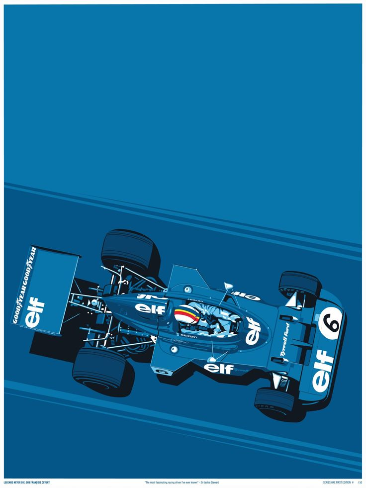 The Legends Never Die Series is a collection of Formula One posters by the team at Curb. Each poster is limited to just 50 hand-numbered units, and they're screen printed on 100 lb cover stock from French Paper Co. in Niles, Michigan. The 3 posters you see here are the work of artists Alan &...