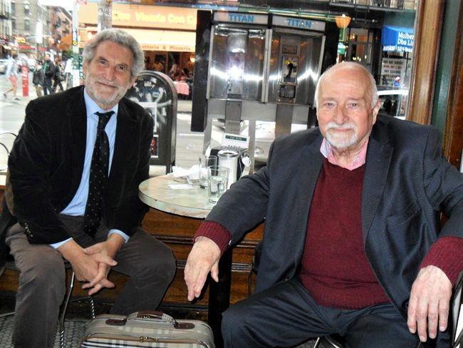 LOmaggio dellAbruzzo a Mario Fratti per il suo 90 compleanno