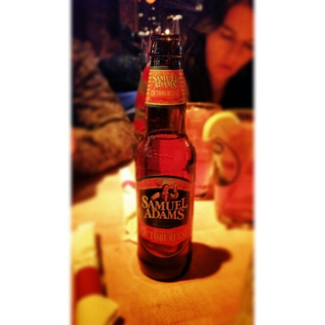 #CRAFTbeer Samuel Adams - Octoberfest. So far not the best beer I have had in the USA. The night out in New York with @mattandands though was legendary!