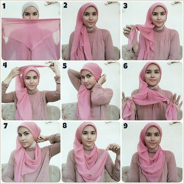 Style Whimsical: [Hijab wrapping tutorial] Hijab style by Zahratul Jannah