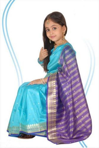 تصميمات مختلفة هندية من  فساتين الاطفال Different designs of Indian dresses kids Différents modèles de robes indiennes enfants