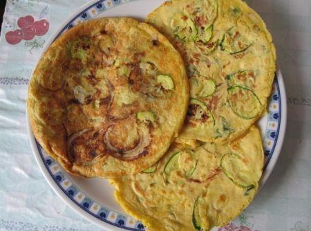 Receita de Panquecas de Abobrinha e Batata - Panquecas de Abobrinha e Batata 4 porções - 101 Kcal/porção Ingredientes - 1/4 xícara (chá) de leite desnatado - 2 claras - 4 colheres...