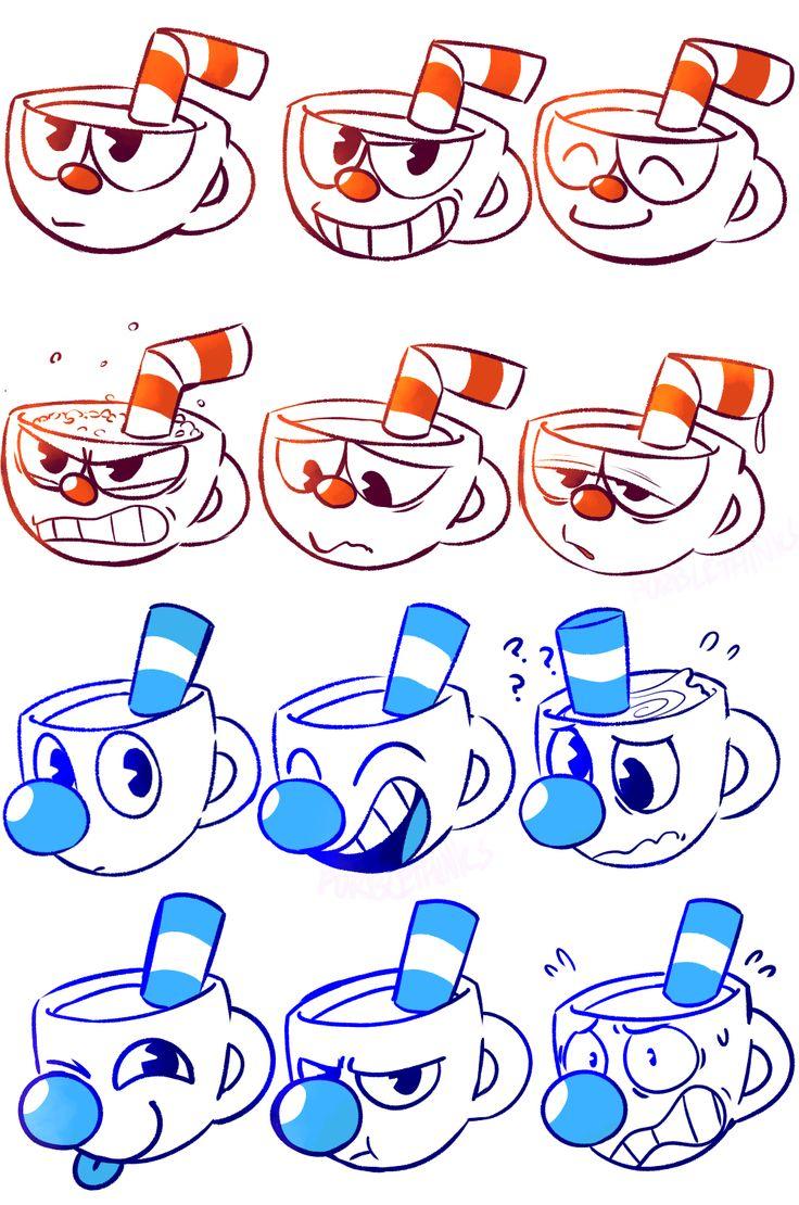 many cups Cuphead