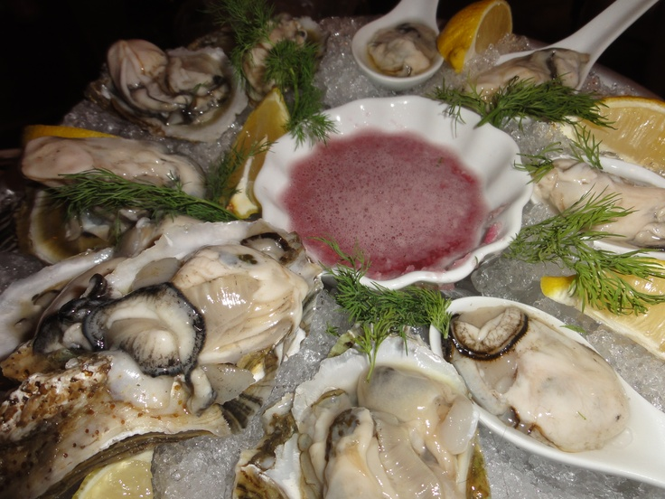 Oysters with Mignonette Sauce | Party Ideas | Pinterest