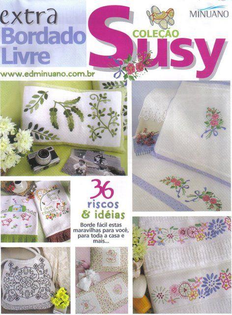Bordado - 3Tatayna- embroidery, knitting - Picasa Web Albums...FREE BOOK!!