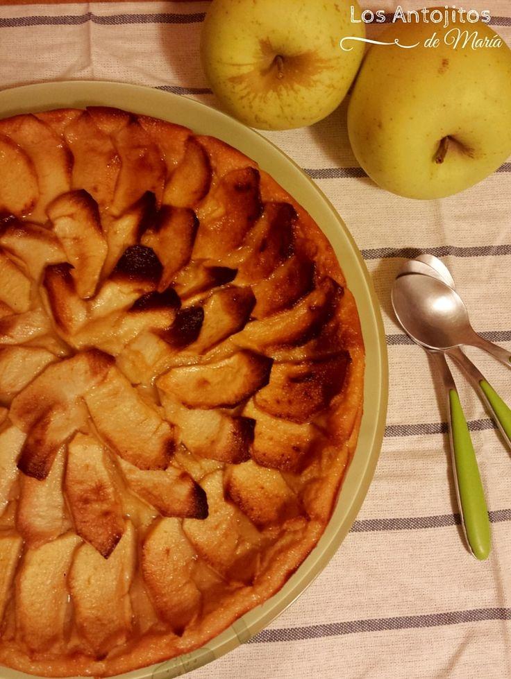 Los Antojitos de María: Pastel de manzana