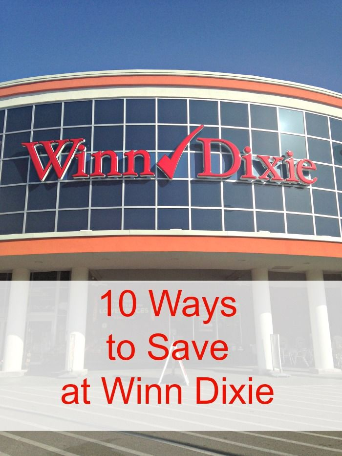 10 ways to save money at #WinnDixie. Good list to be aware of all the ways they have to save on top of shopping what's on sale and coupons. #Grocery