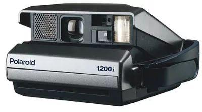 Cámara instantánea Polaroid 1200i