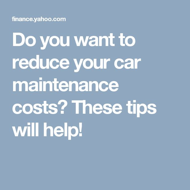 5 Simple Car Care Tips That Can Save You A Bundle Of Money Car Maintenance Costs Car Care Tips Car Care