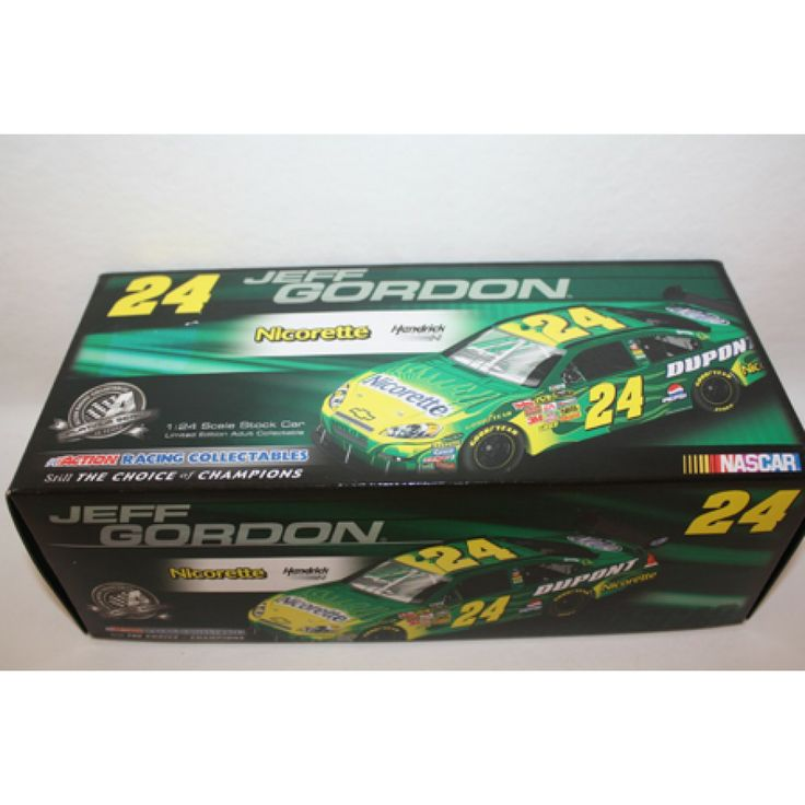 JEFF GORDON NASCAR 2008 IMPALA SS ACTION RACING COLLECTIBLES NICORETTE #24 1:24 SCALE