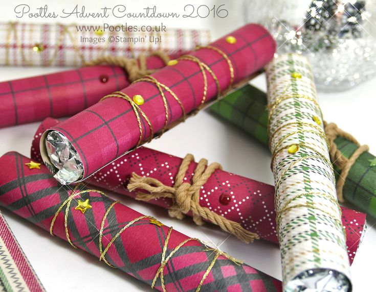 Pootles Advent Countdown 2016 Quick 'n Easy Sweetie Wraps