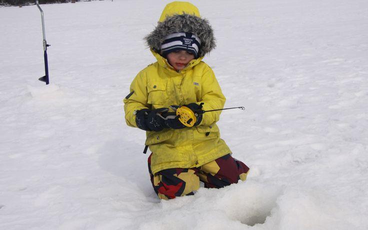 Even children enjoy ice fishing and winter adventures!  http://www.kontikifinland.com/holidays/destination/1184331/kuhmo/family-winter-adventure-holiday