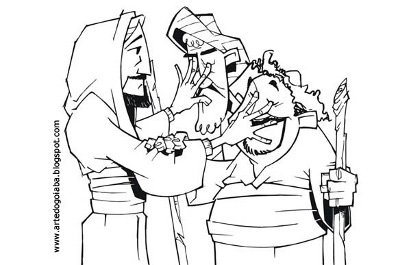 600 387 blind bartimaeus other blind for Bartimaeus coloring page