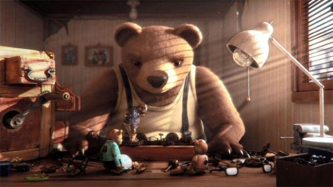 + Shorts: Медвежья история Historia de un oso
