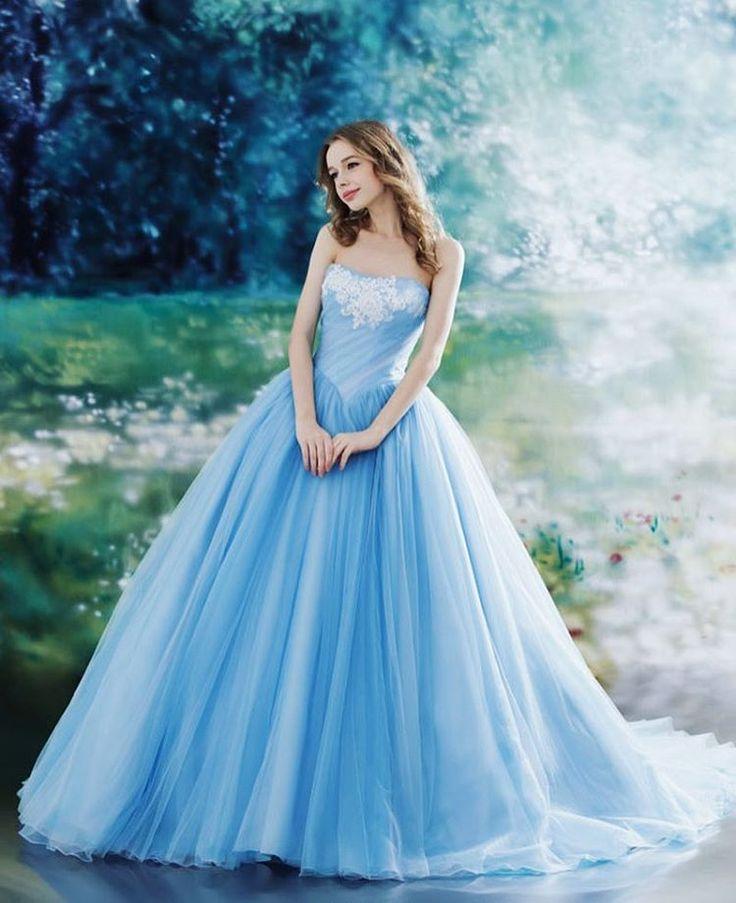 304 best cinderella inspired wedding images on pinterest for Fairy inspired wedding dresses
