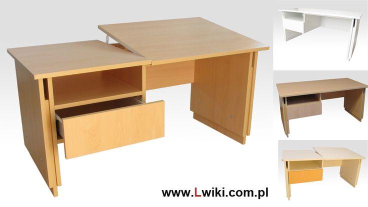 LW6 biurko regulowane Wysokość regulowana w 9 pozycjach od 52 cm. Wysokość idealna dla dzieci 2 letnich. Dodatkowo regulacja blatu w 6 pozycjach do czytania, pisania czy rysowania. Obustronnie regulowana dla zapewnienia bezpieczeństwa i stabilnego ułożenia blatu. Więcej na www.Lwiki.com.pl