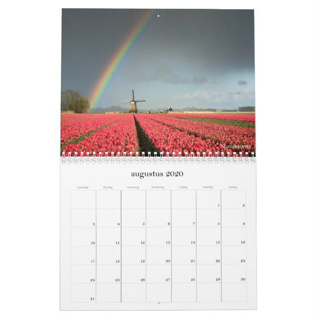 2020 Netherlands Landscape Photography Calendar Zazzle Com Landscape Photography Landscape Photography