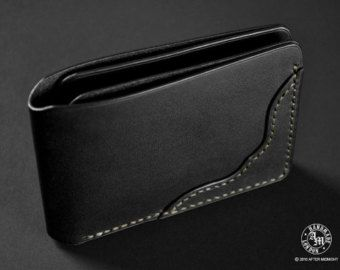 Trifold Biker Wallet with 8 card pockets & от AfterMidnightLondon