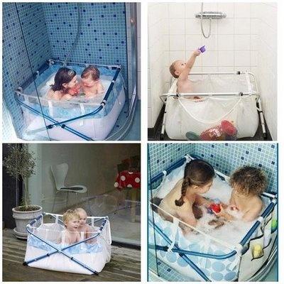 Productos infantiles ba era para plato de ducha bibaba o - Banera ninos para ducha ...