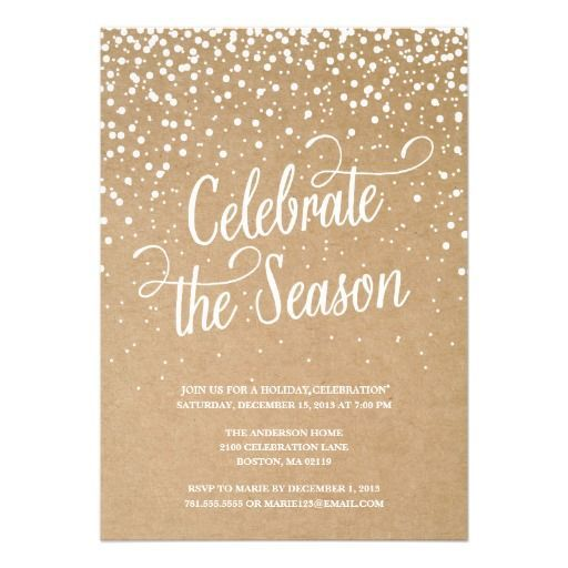 13 best christmas invite images on pinterest christmas parties need inspiration for your holiday party invitation stopboris