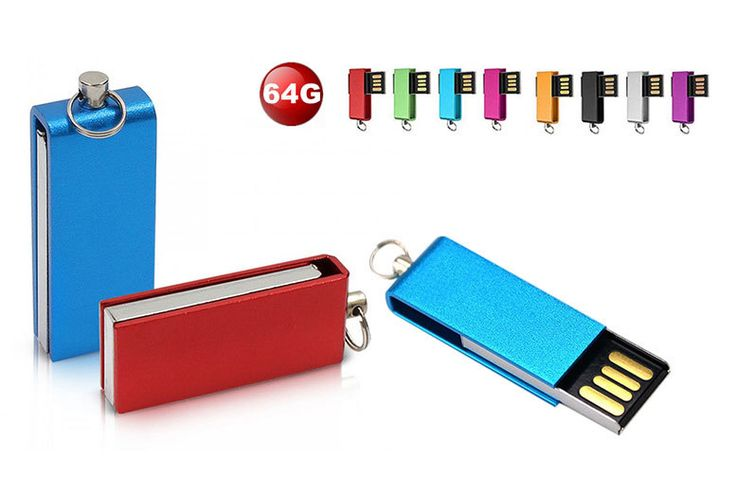 64GB USB Stick - 8 Colours!