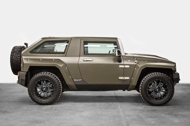 Beginning with the time tested Jeep Wrangler Unlimited platform and drivetrain, the makers of this USSV Rhino XT SUV have managed to take an already tough vehicle to the next level. The latest reinvention from US Specialty Vehicles features flared...
