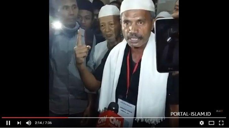 Masya Allah... Menempuh Perjalanan 4 Hari 4 Malam, Kafilah Aksi 112 Dari NTT Sudah Tiba Di Masjid Istiqlal